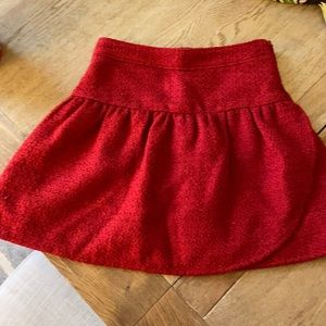 Brooks Brothers Girl's skirt in red